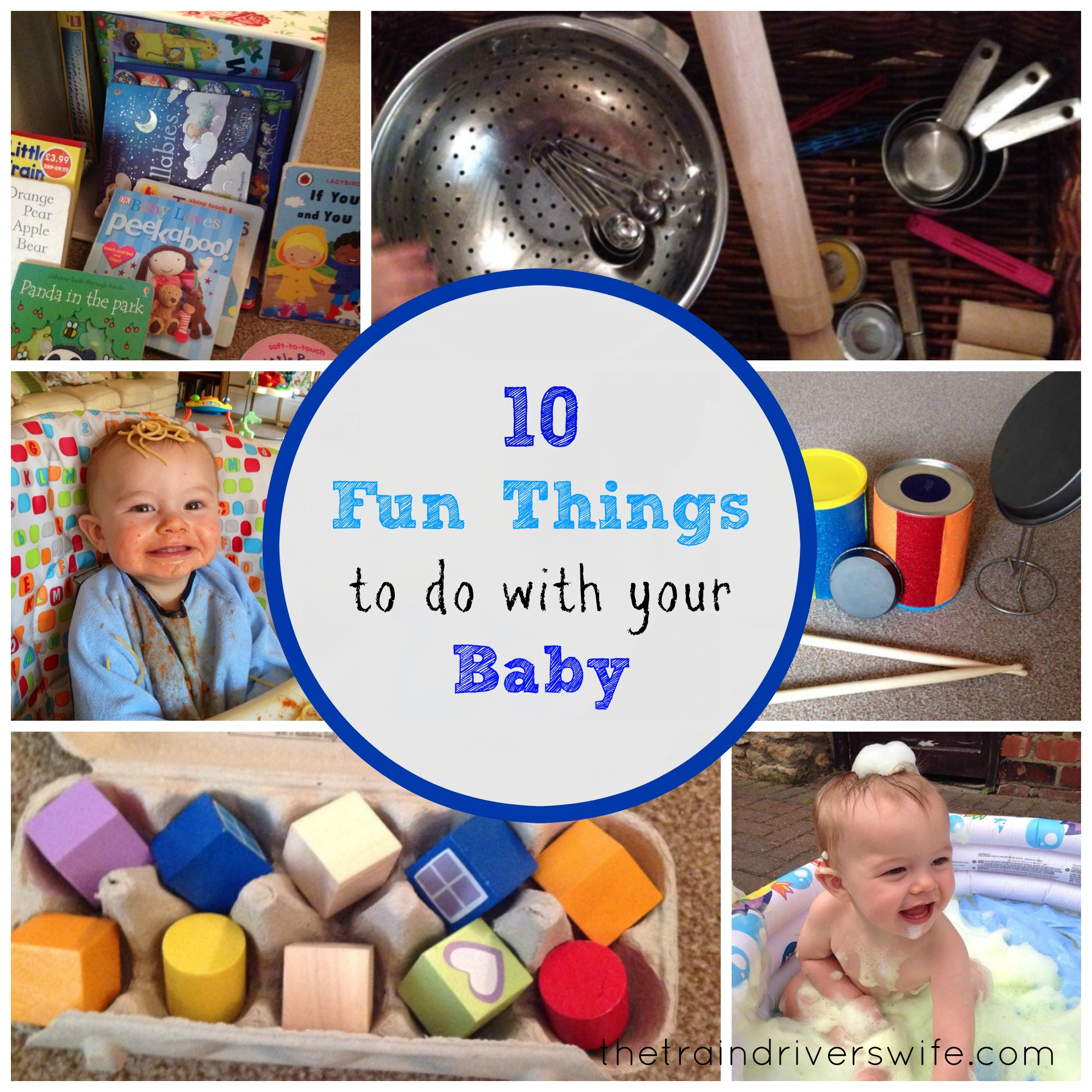 10 Fun Things to do with your 8-10 Month Old Baby