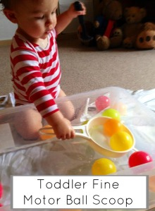 Toddler fine motor ball Scoop 705x960