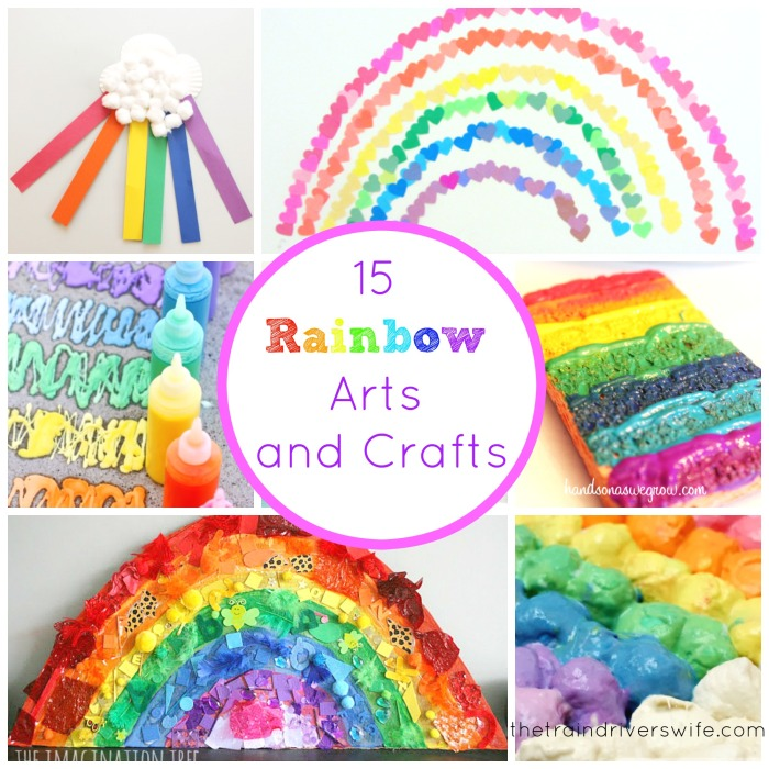 Rainbow arts and crafts cover pic
