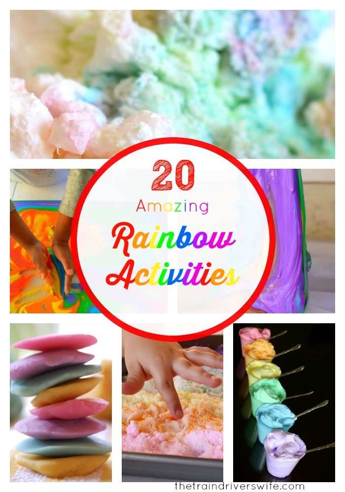 20 rainbow activities cover