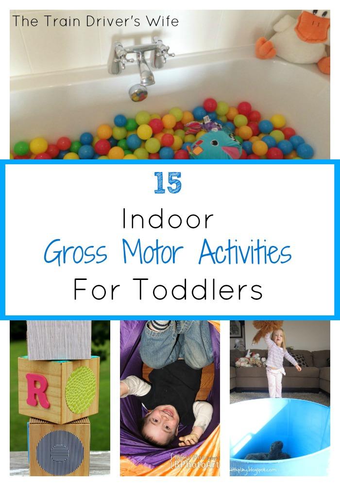 15 Indoor Gross Motor Activities for Toddlers   The Train ...
