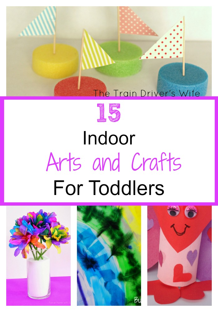 15 indoor arts and crafts