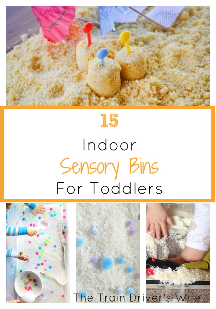 15 indoor sensory bins