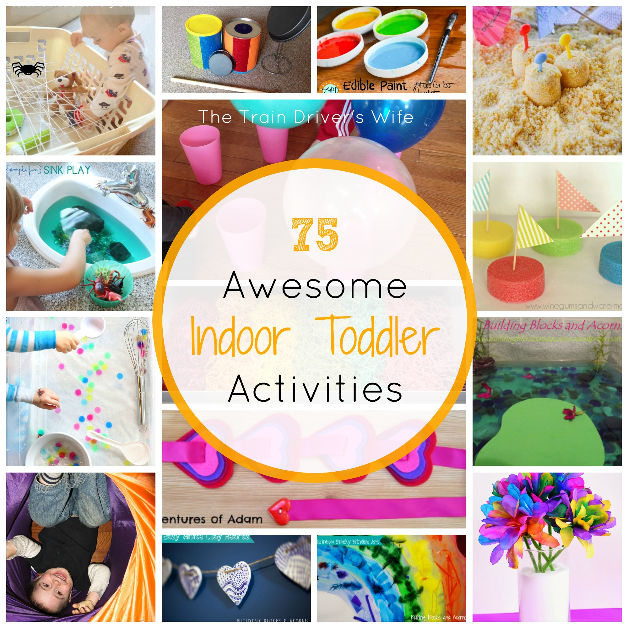 75 Indoor Play Activities for Toddlers