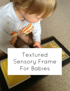 sensory frame for babies cover
