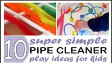 10 simple pipe cleaner activities 460x260