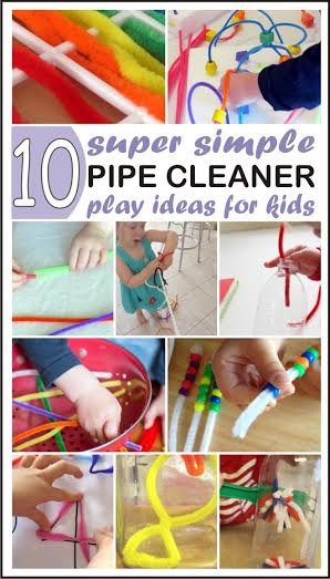 10 simple pipe cleaner activities