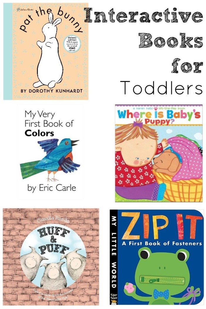 5 interactive books for toddlers